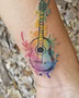 Water Color Tattoos at Aces High Tattoo Shop